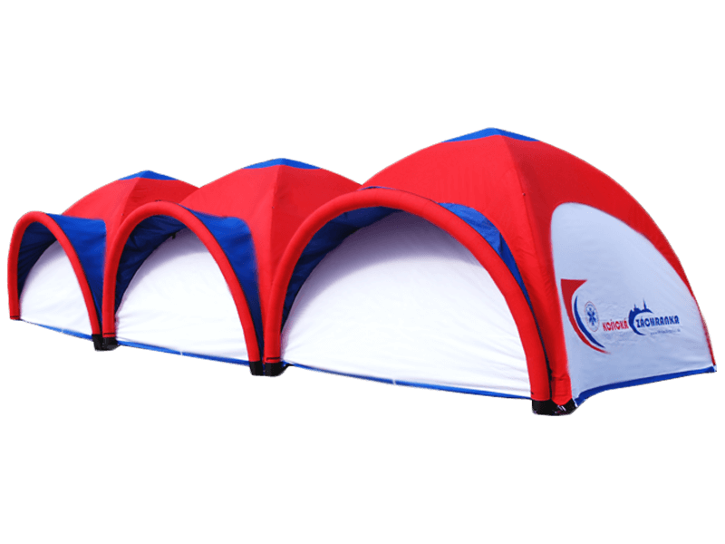 promotional inflatable tents, inflatable tents, inflatable event tents, advertising tents, inflatable promotional products, Inventini Pascal Line