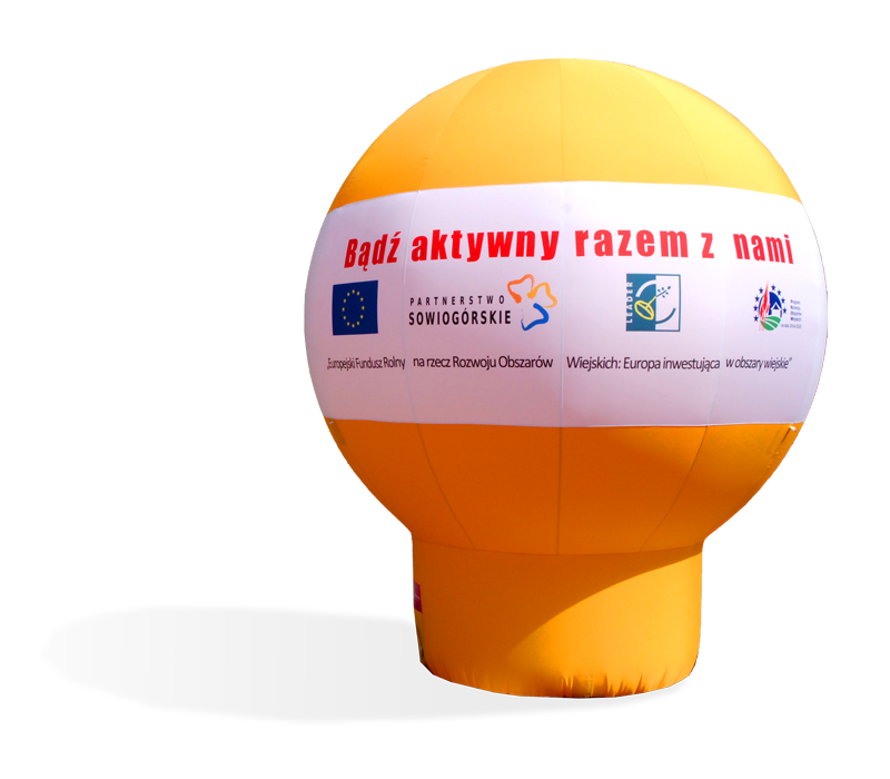 Promotional inflatable balloons ads