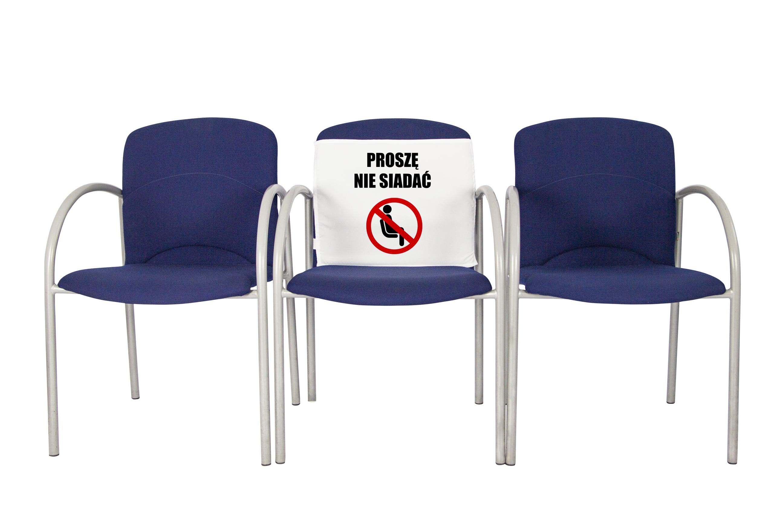 Nakładki na krzesła – jak wdrożyć zasady w związku z COVID-19