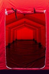 namiot dla Straży Pożarnej