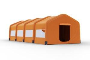 Wizualizacja konstrukcji namiotu