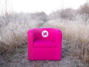 Fotel tapicerowany Inventini