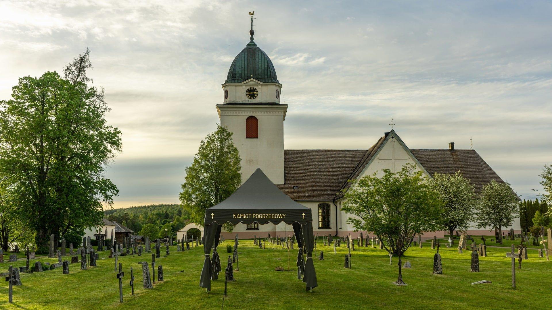 Namiot do Ceremonii Pogrzebowej - cmentarz